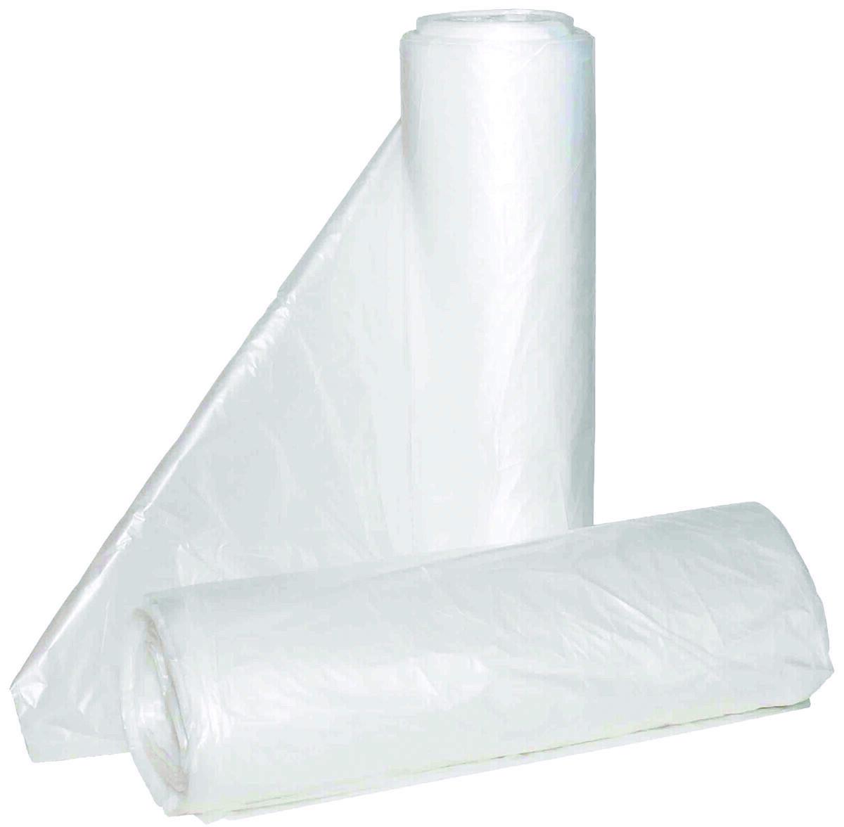 56 Gallon X Heavy Weight Clear Trash Bags Just Supplies Llc